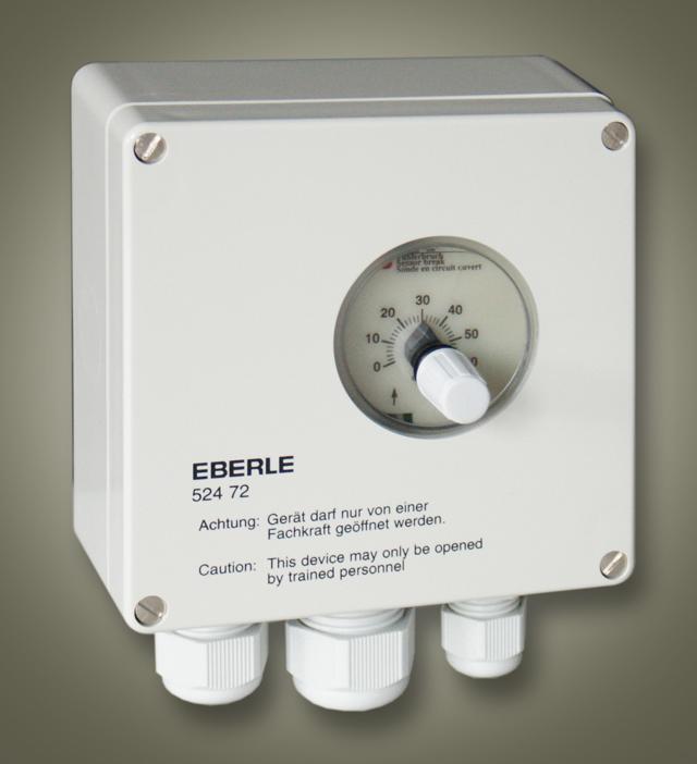 Průmyslový termostat s odděleným čidlem Eberle UTR/60 (0°...60°C)